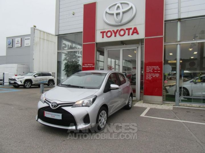 Toyota YARIS 69 VVT-i France 5p GRIS C Occasion - 1