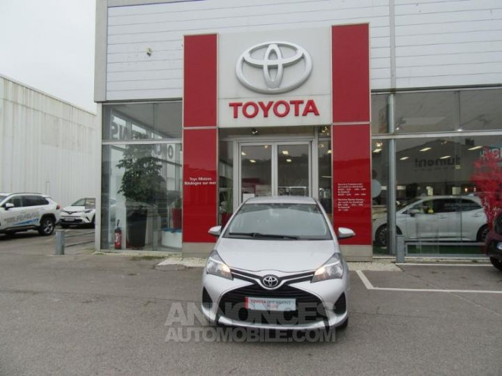 Toyota YARIS 69 VVT-i France 5p GRIS C Occasion - 2