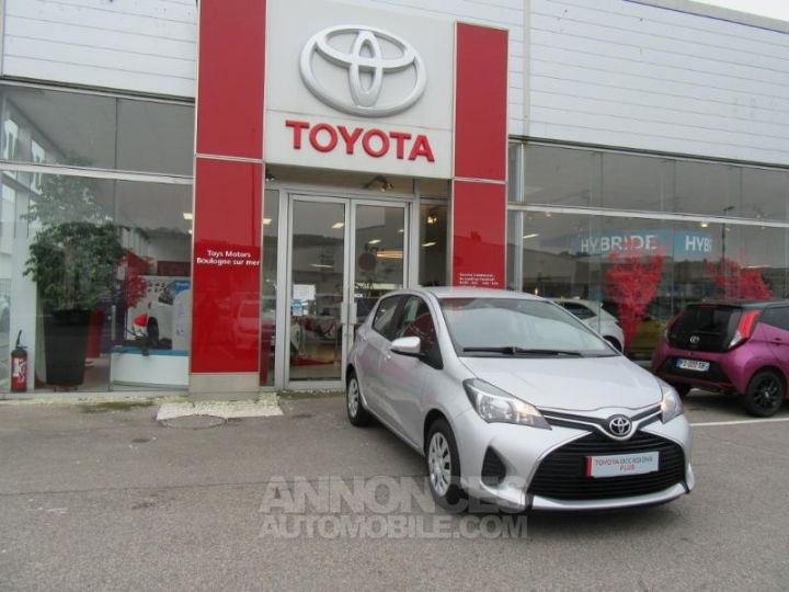 Toyota YARIS 69 VVT-i France 5p GRIS C Occasion - 3