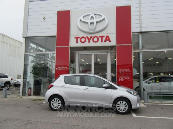 Toyota YARIS 69 VVT-i France 5p GRIS C Occasion - 4