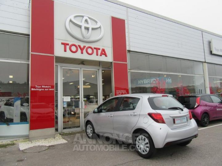 Toyota YARIS 69 VVT-i France 5p GRIS C Occasion - 7