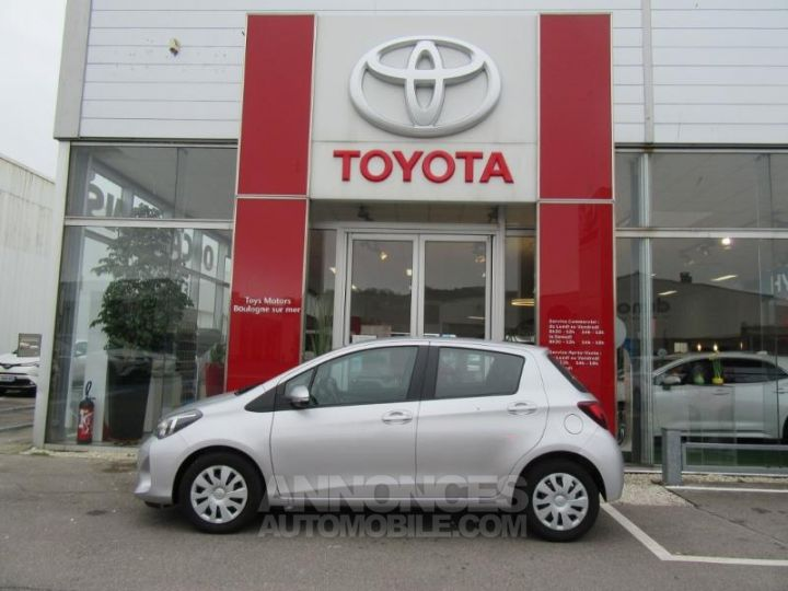 Toyota YARIS 69 VVT-i France 5p GRIS C Occasion - 8