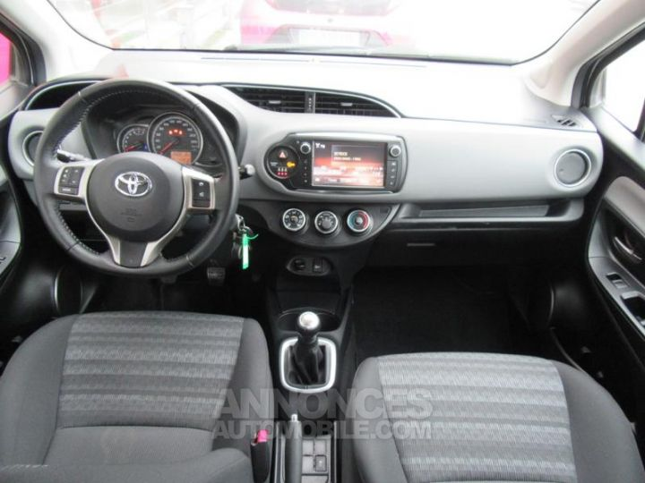 Toyota YARIS 69 VVT-i France 5p GRIS C Occasion - 11