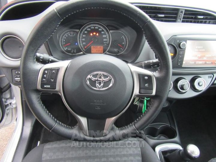 Toyota YARIS 69 VVT-i France 5p GRIS C Occasion - 12
