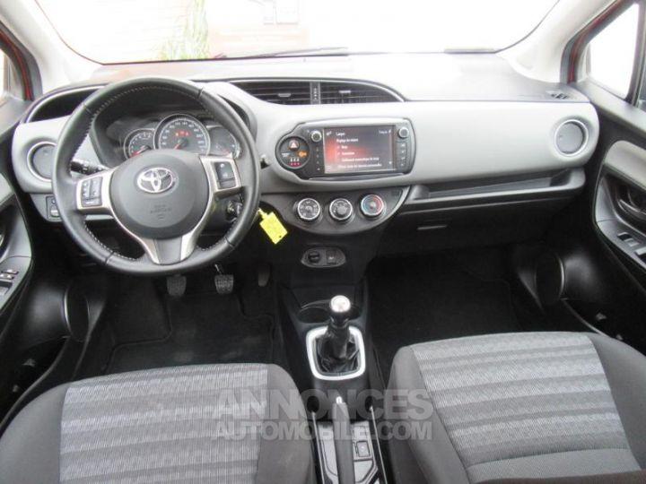 Toyota YARIS 69 VVT-i France 5p Rouge Métal Occasion - 2