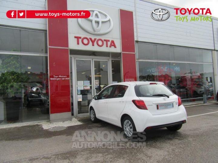Toyota YARIS 69 VVT-i France 5p BLANC Occasion - 7