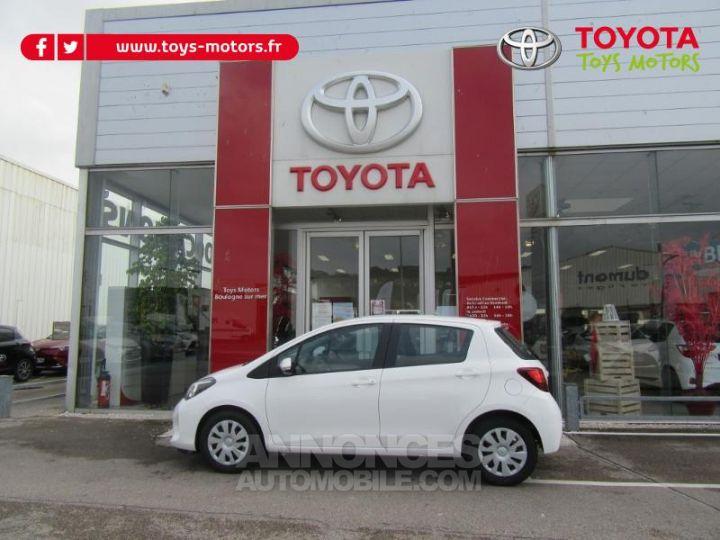 Toyota YARIS 69 VVT-i France 5p BLANC Occasion - 8