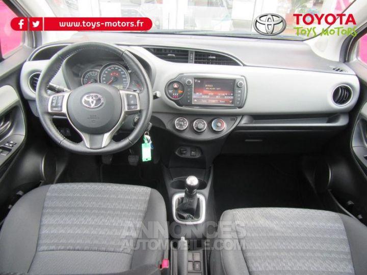 Toyota YARIS 69 VVT-i France 5p BLANC Occasion - 11