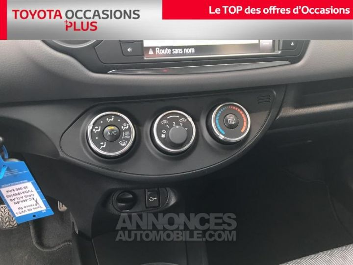 Toyota YARIS 69 VVT-i France 5p GRIS ATLAS Occasion - 11