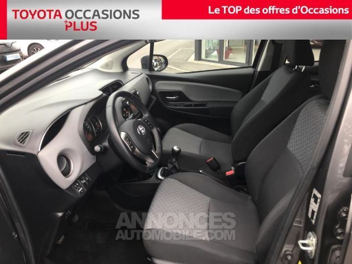 Toyota YARIS 69 VVT-i France 5p GRIS ATLAS Occasion - 13