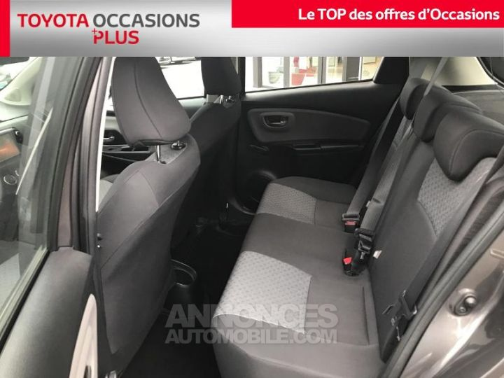 Toyota YARIS 69 VVT-i France 5p GRIS ATLAS Occasion - 14