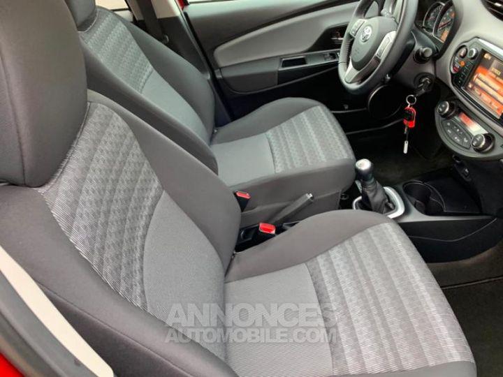 Toyota YARIS 69 VVT-i TechnoLine 5p ROUGE Occasion - 9