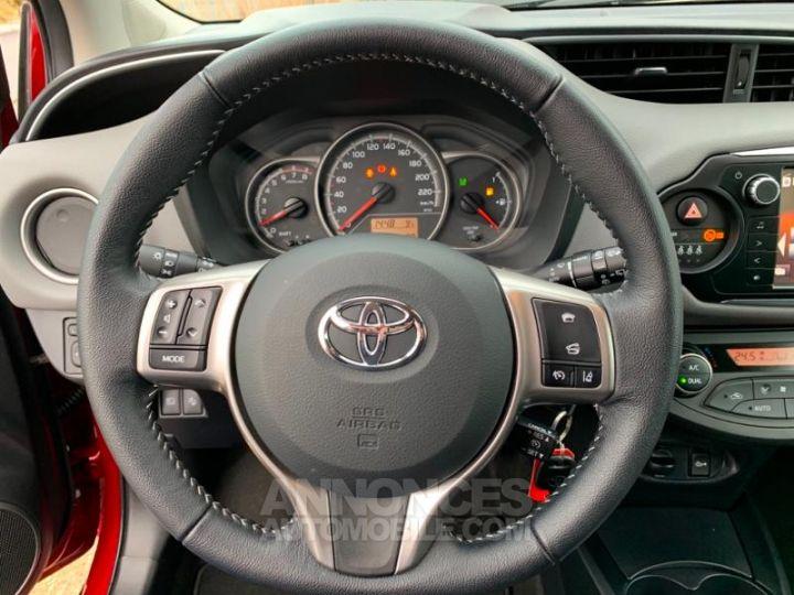 Toyota YARIS 69 VVT-i TechnoLine 5p ROUGE Occasion - 12