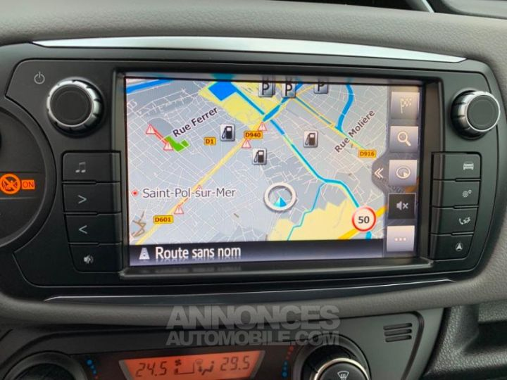 Toyota YARIS 69 VVT-i TechnoLine 5p ROUGE Occasion - 16