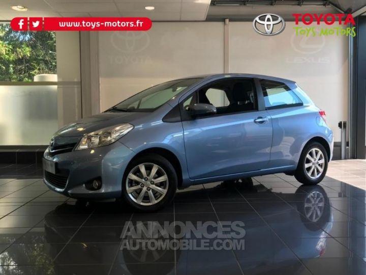 Toyota YARIS 69 VVT-i Tendance 3p Bleu Clair Occasion - 1
