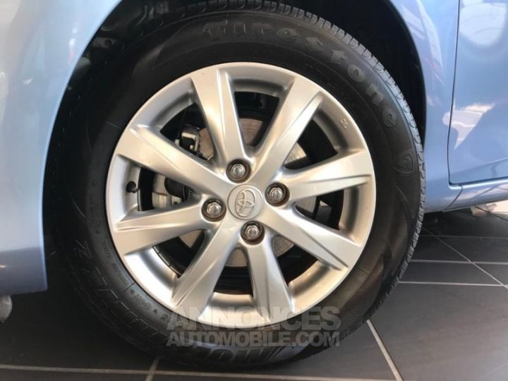 Toyota YARIS 69 VVT-i Tendance 3p Bleu Clair Occasion - 3