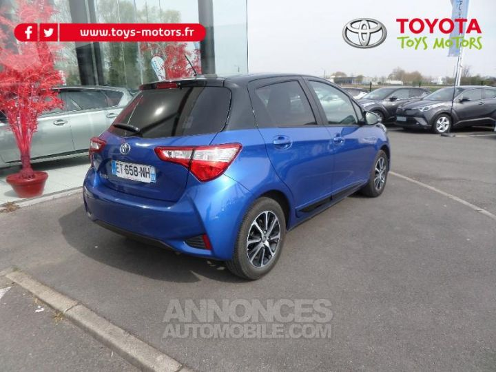 Toyota YARIS 70 VVT-i Design 5p RC18 BI TON BLEU Occasion - 3