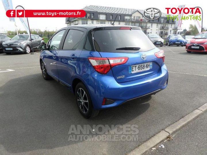 Toyota YARIS 70 VVT-i Design 5p RC18 BI TON BLEU Occasion - 4