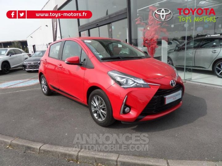 Toyota YARIS 70 VVT-i Dynamic 5p RC18 ROUGE CHILIEN Occasion - 1