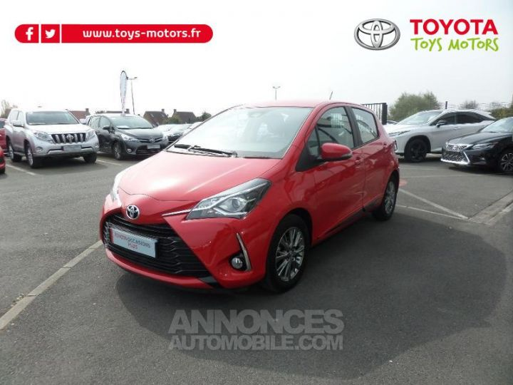 Toyota YARIS 70 VVT-i Dynamic 5p RC18 ROUGE CHILIEN Occasion - 2