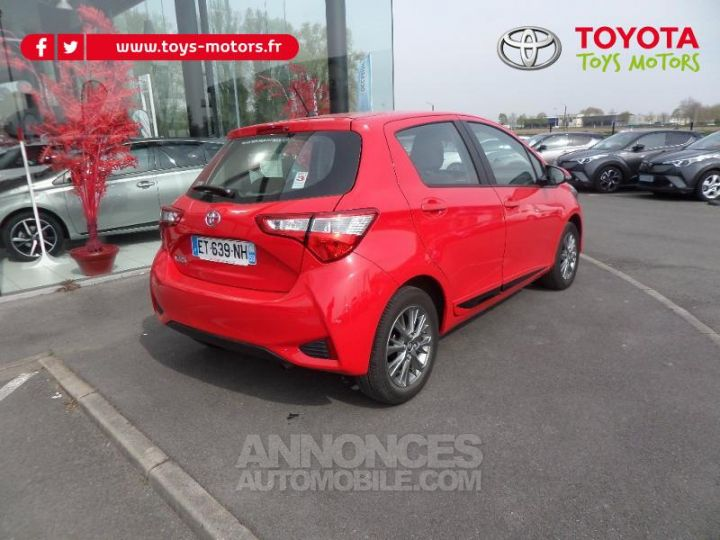 Toyota YARIS 70 VVT-i Dynamic 5p RC18 ROUGE CHILIEN Occasion - 3