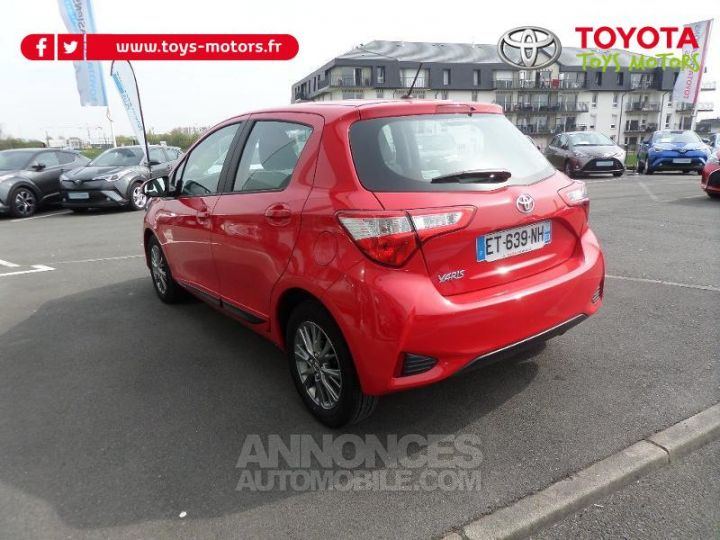 Toyota YARIS 70 VVT-i Dynamic 5p RC18 ROUGE CHILIEN Occasion - 4