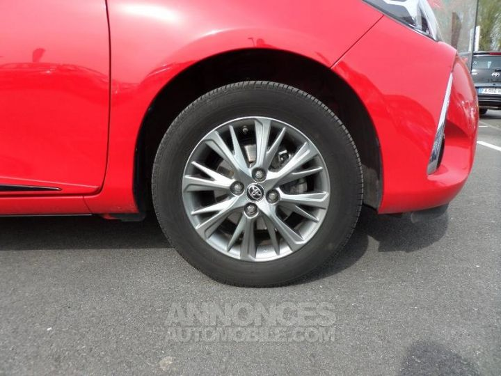 Toyota YARIS 70 VVT-i Dynamic 5p RC18 ROUGE CHILIEN Occasion - 6
