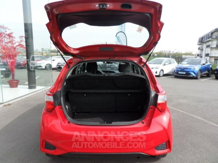 Toyota YARIS 70 VVT-i Dynamic 5p RC18 ROUGE CHILIEN Occasion - 7
