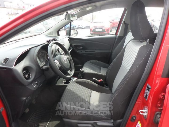 Toyota YARIS 70 VVT-i Dynamic 5p RC18 ROUGE CHILIEN Occasion - 10