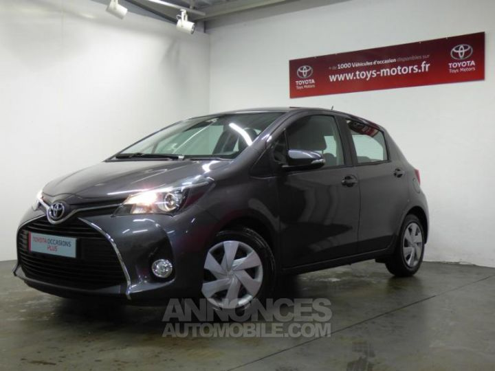 Toyota YARIS 90 D-4D Business 5p GRIS ATLAS Occasion - 1
