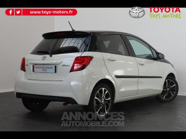 Toyota YARIS 90 D-4D Collection 5p BLANC NACRE Occasion - 2