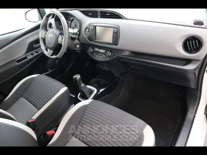 Toyota YARIS 90 D-4D Collection 5p BLANC NACRE Occasion - 7