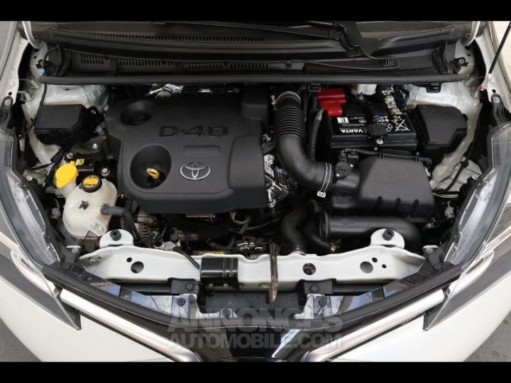 Toyota YARIS 90 D-4D Collection 5p BLANC NACRE Occasion - 13