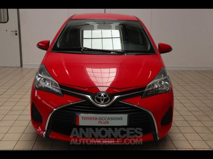 Toyota YARIS 90 D-4D France 5p ROUGE Occasion - 3