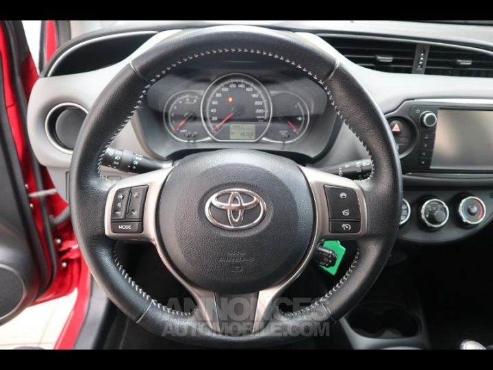 Toyota YARIS 90 D-4D France 5p ROUGE Occasion - 6