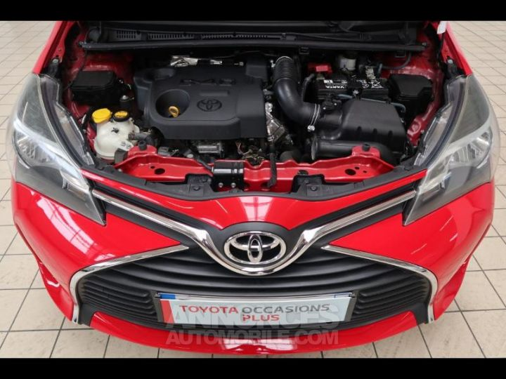 Toyota YARIS 90 D-4D France 5p ROUGE Occasion - 7