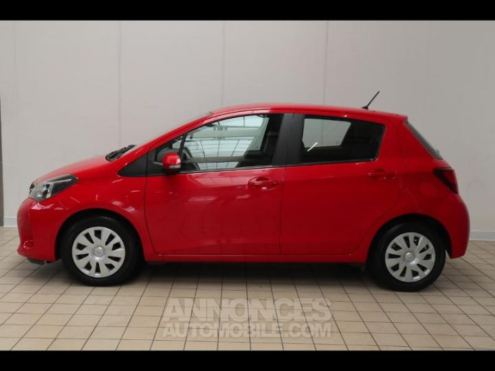 Toyota YARIS 90 D-4D France 5p ROUGE Occasion - 15