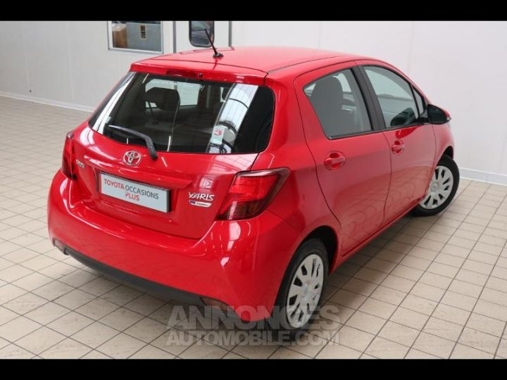 Toyota YARIS 90 D-4D France 5p ROUGE Occasion - 16