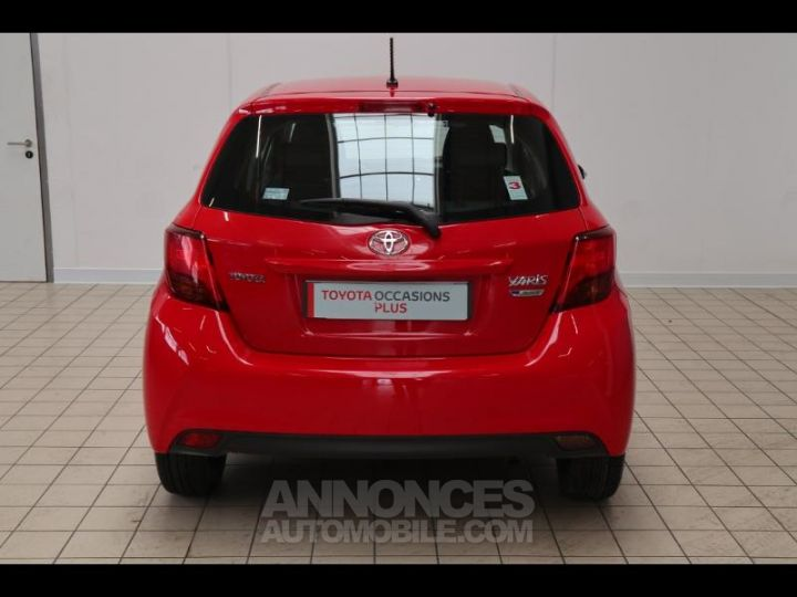 Toyota YARIS 90 D-4D France 5p ROUGE Occasion - 17