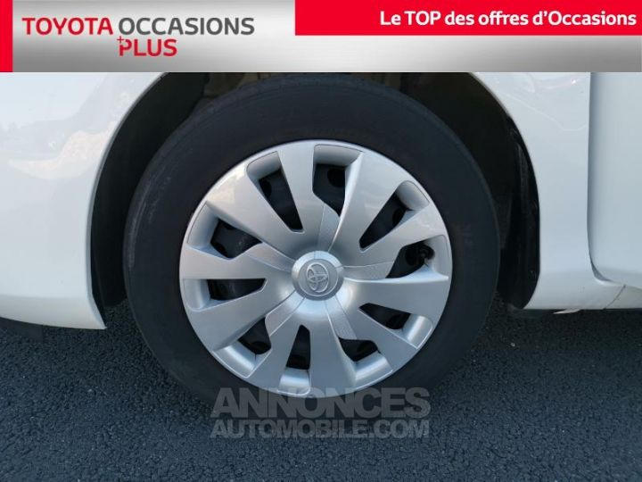 Toyota YARIS 90 D-4D France 5p BLANC PUR Occasion - 4