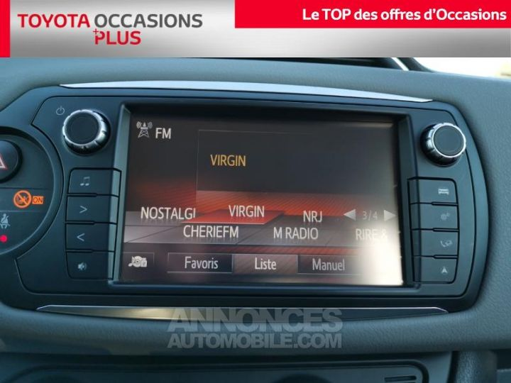 Toyota YARIS 90 D-4D France 5p BLANC PUR Occasion - 7