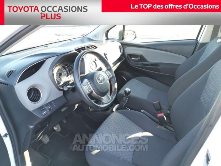 Toyota YARIS 90 D-4D France 5p BLANC PUR Occasion - 13