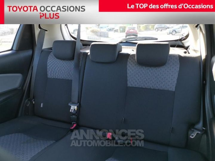 Toyota YARIS 90 D-4D France 5p BLANC PUR Occasion - 14