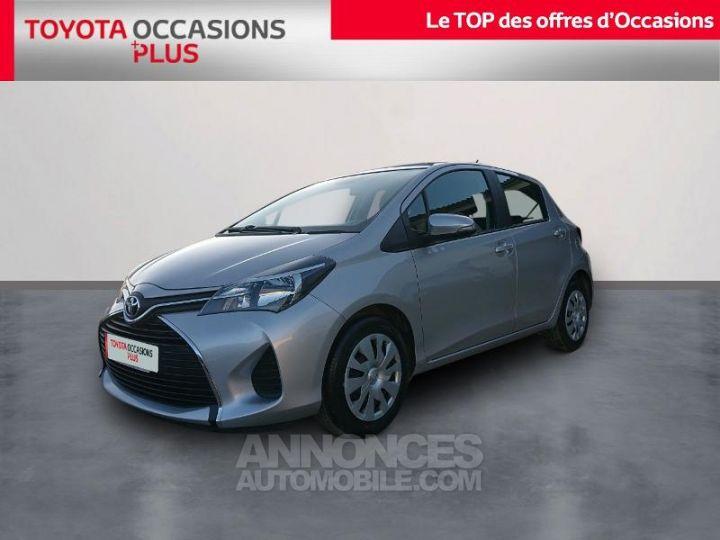 Toyota YARIS 90 D-4D France 5p GRIS ALUMINUM Occasion - 1