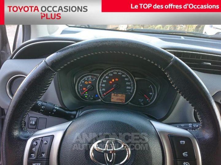Toyota YARIS 90 D-4D France 5p GRIS ALUMINUM Occasion - 8