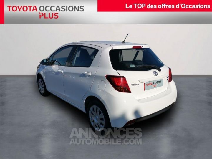 Toyota YARIS 90 D-4D France 5p BLANC PUR Occasion - 2