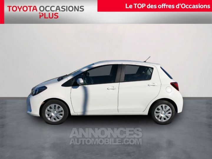 Toyota YARIS 90 D-4D France 5p BLANC PUR Occasion - 3