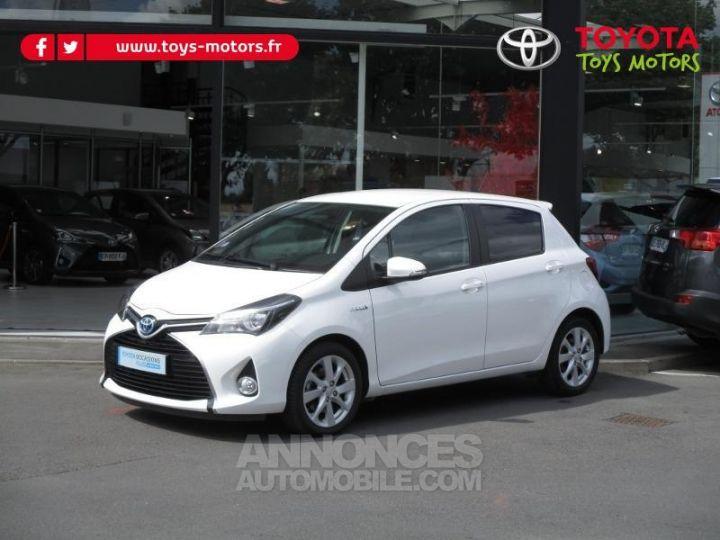 Toyota YARIS HSD 100h Attitude 5p BLANC Occasion - 1