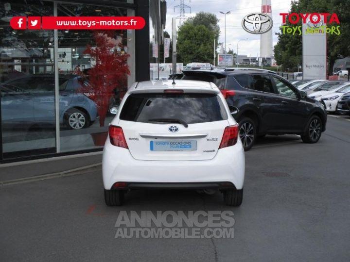 Toyota YARIS HSD 100h Attitude 5p BLANC Occasion - 5