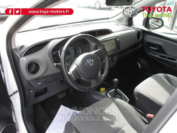 Toyota YARIS HSD 100h Attitude 5p BLANC Occasion - 8